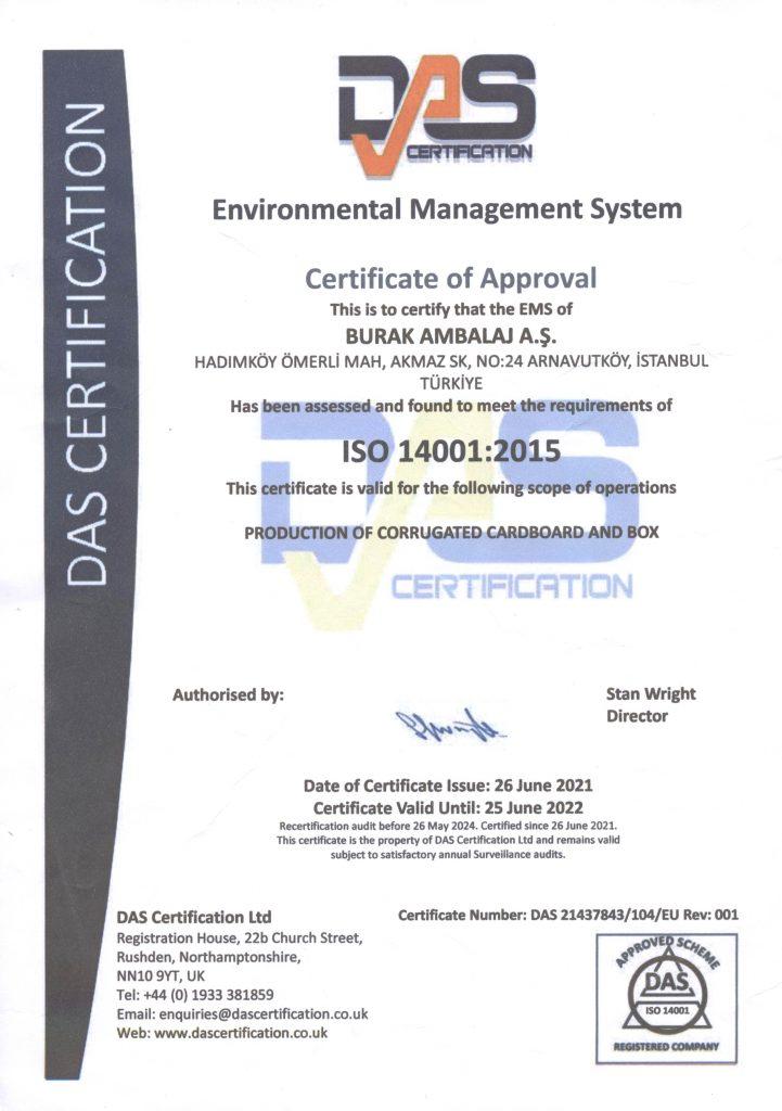 Ambalaj Sektörü Çevre Yönetim Sistemi